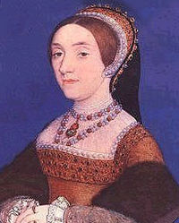 Portrait miniature by Hans Holbein the younger.