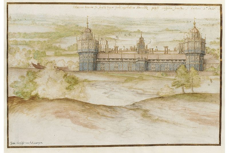 Map Of England Henry Viii.A List Of King Henry Viii S Palaces Royal Houses