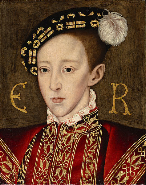 Edward VI of England, by William Scrots, c. 1550