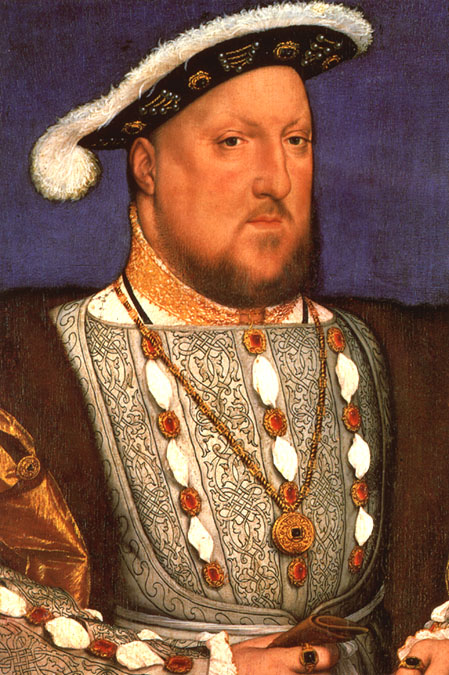 Henry VIII by Hans Holbein the Younger c. 1536