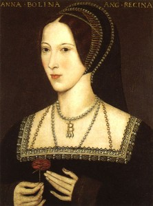 Anne Boleyn, by an anonymous painter. Hever Castle, Kent.