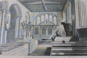 Restoration of the chapel of St. Peter ad Vincula