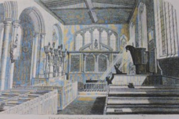 Anne Boleyn's Remains & Restoration of the chapel of St. Peter ad Vincula
